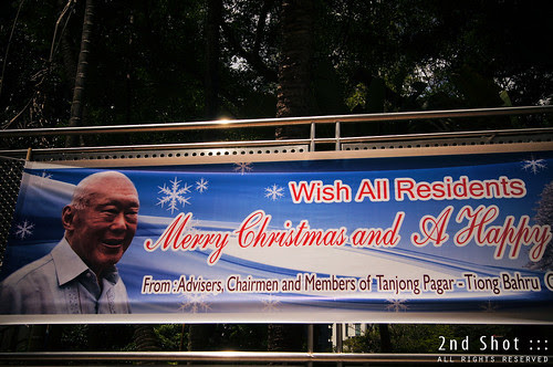 Lee Kuan Yew Wishes All Residents