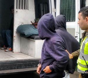 Los detenidos por robo frustrado al Banco Ripley de Arica