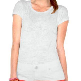 Floral Bridal tee shirt