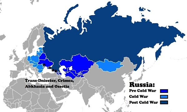 Simple Russia Map