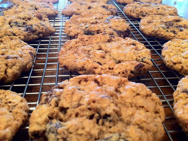 Cooking Cookies Closeup