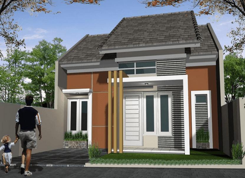 Model Rumah Type 36 - Desain Partisi Rumah