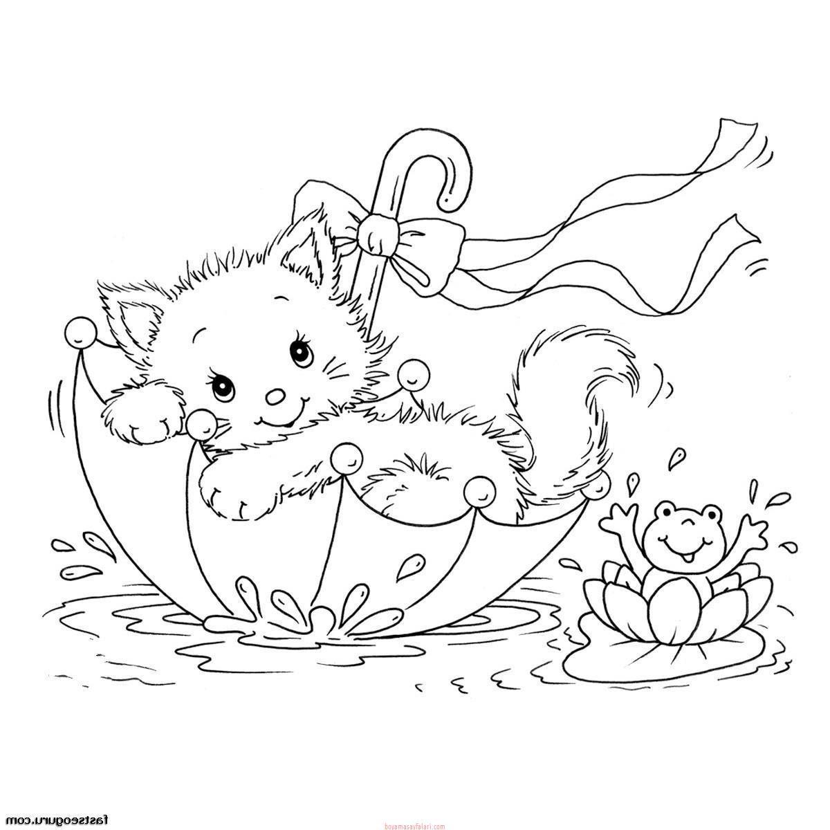Kedi Boyama Kedi şablonları Sınıf öğretmenleri Için ücretsiz