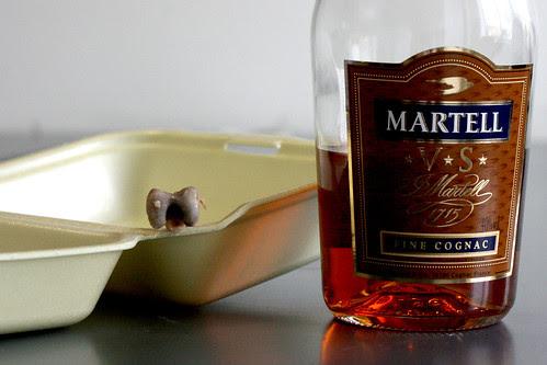 Cognac dousing