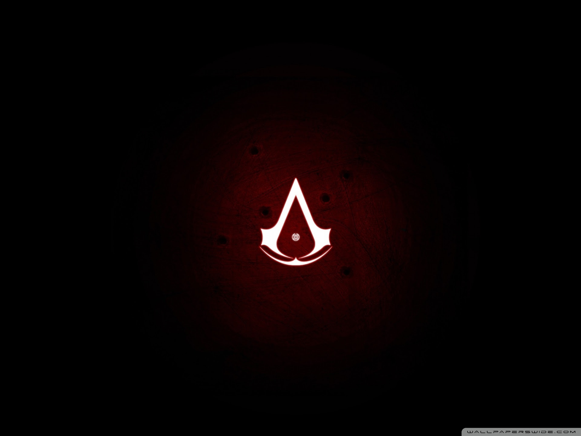 Assassins Creed Revelations Logo Uhd Desktop Wallpaper For
