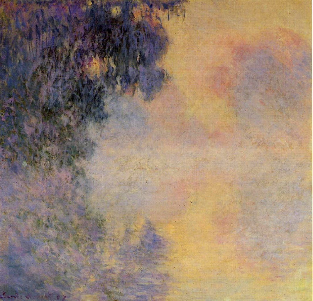 Claude Monet (1840�1926) Arm of the Seine near Giverny in the Fog Oil on canvas, 1887