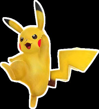 Pikachu em Pokken Tournament