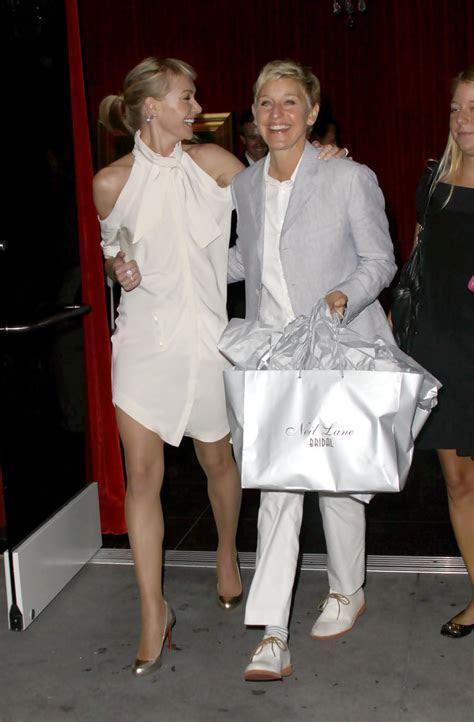 Ellen DeGeneres and Portia de Rossi Photos Photos   Women