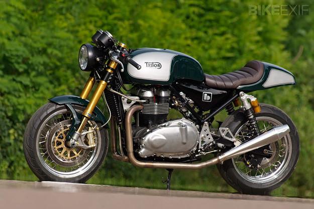 Norton 961-based Triton by Britalmoto
