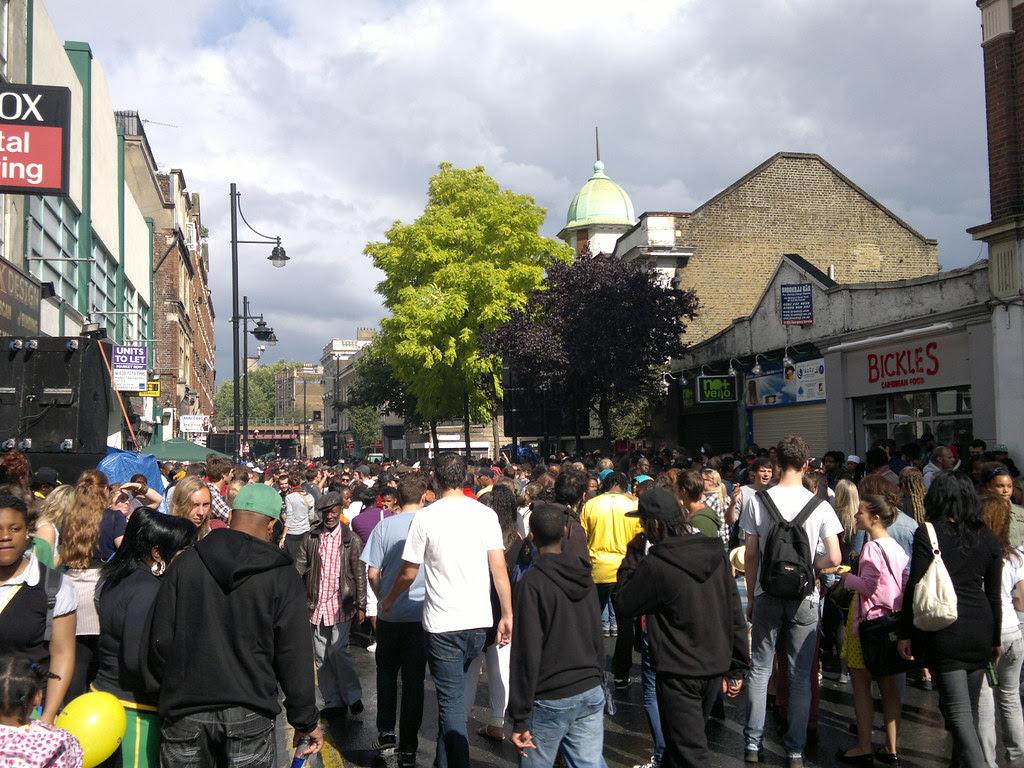 Brixton Splash, 7 August 2011