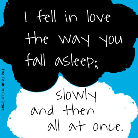 The Fault In Our Stars Quotes Fell In Love