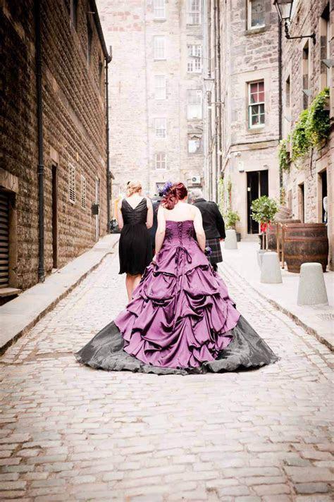 Charlotte & Kevin?s Atmospheric Edinburgh Wedding · Rock n