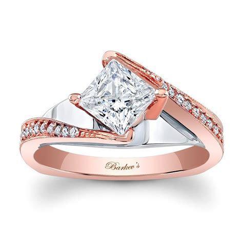 Barkev's Rose Gold Engagement Ring 7922LT   Barkev's