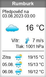 Počasí Rumburk - Slunečno.cz