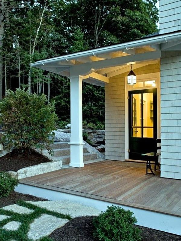 side door entrance design  | Side Door Overhang