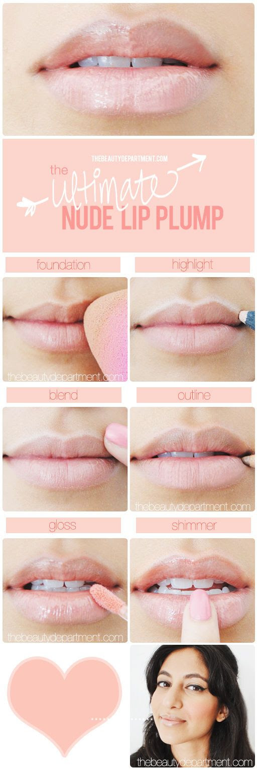 Try this pretty pout tonight!
