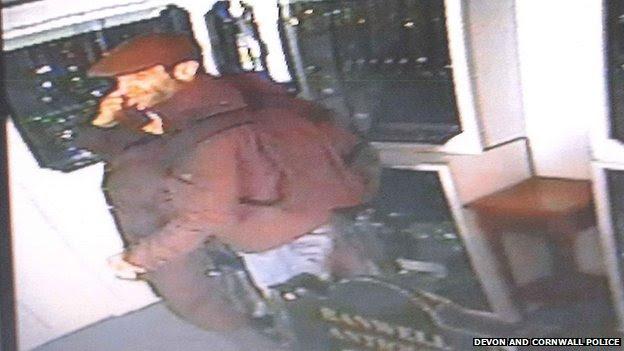 CCTV image of jewellery suspect