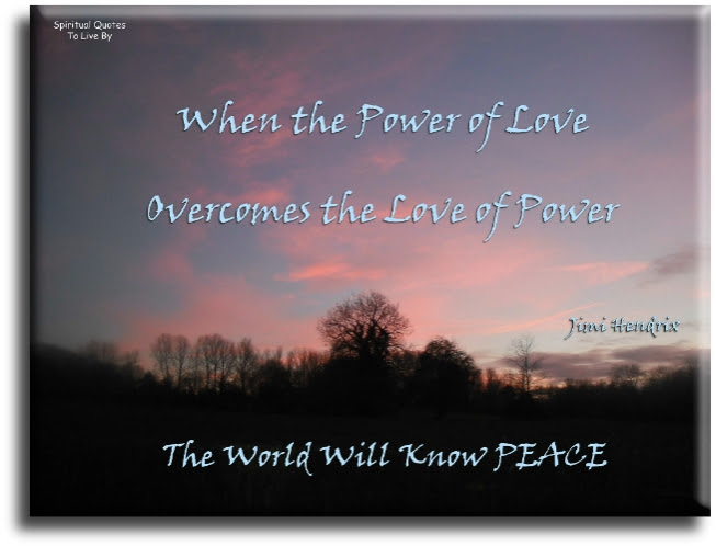 Peace Quotes To Live By