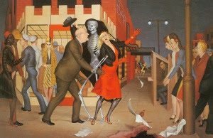 Dance. Artwork by George Tooker
