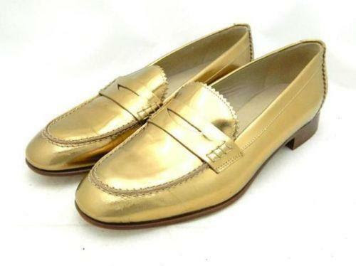 Gold Penny Loafers: Flats & Oxfords | eBay