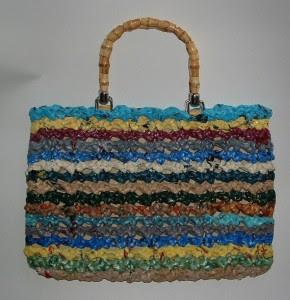 πλαστική τσάντα-πορτοφόλι-