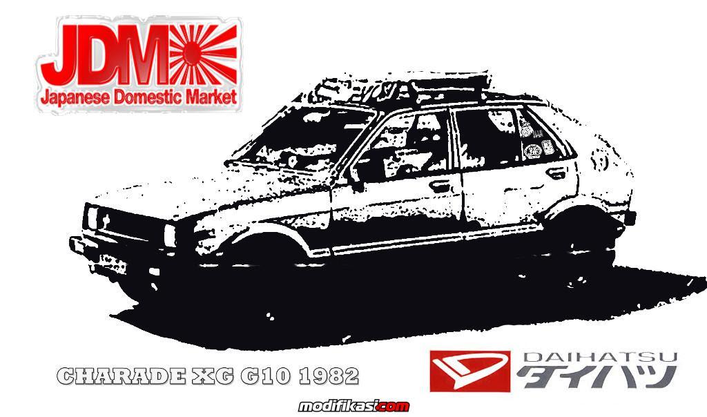 570+ Mobil Daihatsu Charade Modifikasi Warna Merah HD