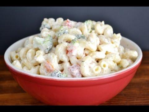 Pasta Salad Recipe Easy Mayonnaise 11 Recipe 123