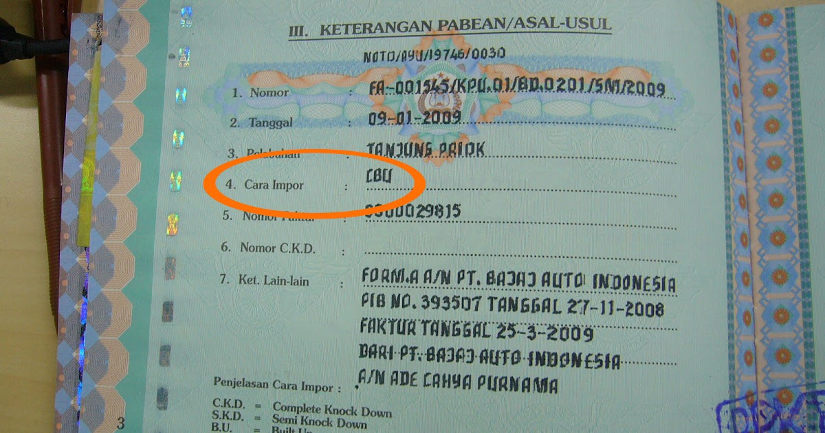 Contoh Faktur Bpkb Bamadhan