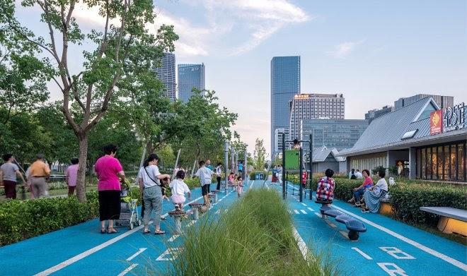 В Китае заброшенный аэропорт превратили в прекрасный общественный парк