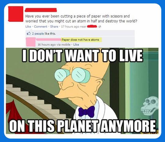 People Dont Make Sense Anymore
