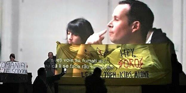Rechtsradikale in Bukarest verhindern am Sonntag die Vorführung eines Films über Aids