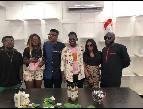 Image result for Tobi And Alex Hangout With Kiki Osinbajo(Photos)