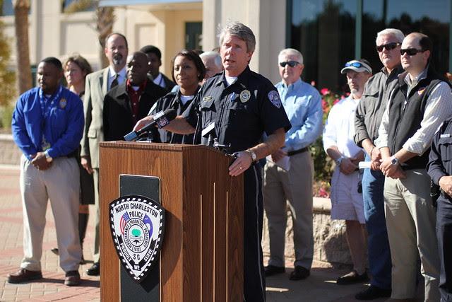 North Charleston Police Chief Jon Zumalt