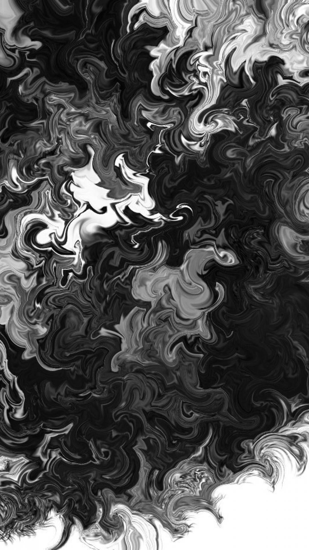 9000+ Wallpaper Black White Iphone HD Gratis
