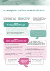 SLCC Annual Report 2010 How we dealt with complaints Page 14