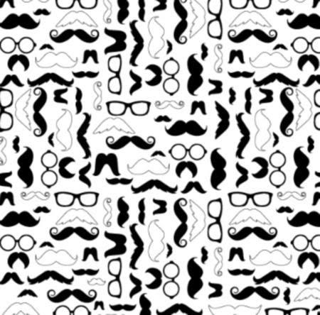 Vinilo Decorativo Mustache Vinilos Decorativos