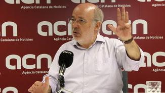 Josep Maria Terricabras en l'entrevista a l'ACN