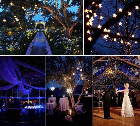Starry night theme wedding inspirations   Decorations   ???