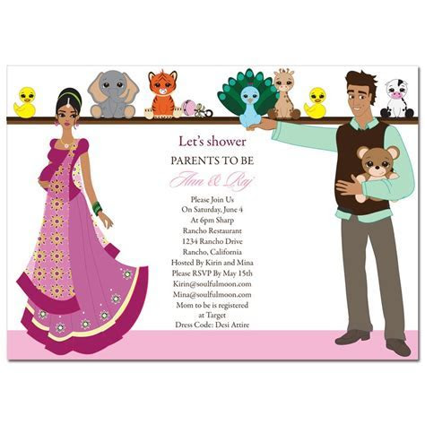 Indian Baby Shower Invitation Templates ? Party XYZ