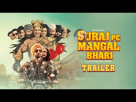 Suraj Pe Mangal Bhari   Official Trailer   Diljit   Manoj   Fatima   Abhishek Sharma   This Diwali