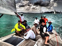 J/41 Souay 1 crew for Pataya TOG Regatta