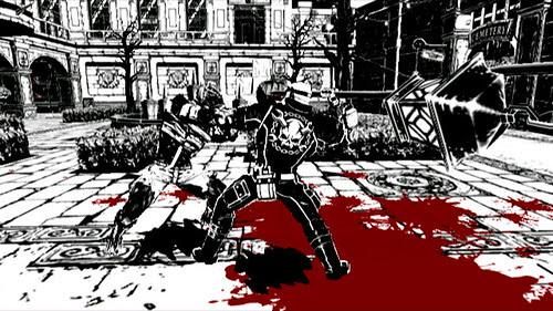 MADWORLD - Nintendo Wii screenshot