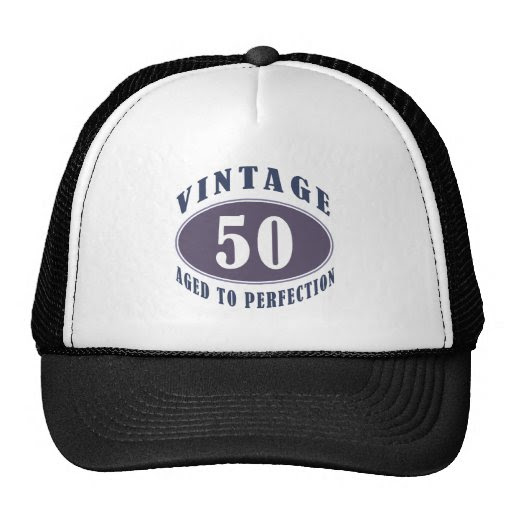 Vintage 50th Birthday Gifts For Men Hats