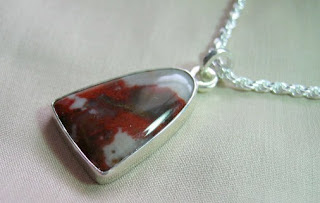 Unique custom pendant in sterling silver