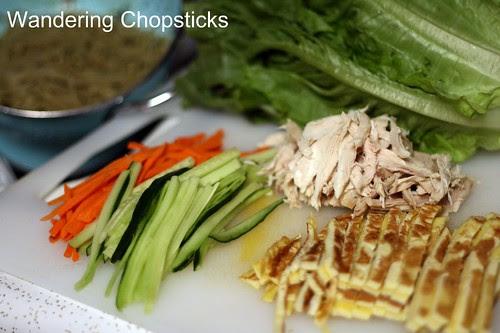 Jaengban Gooksu (Korean Cold Buckwheat Noodle Salad) 4