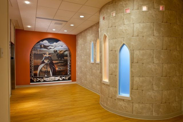 Sanford Children's Hospital Interior
