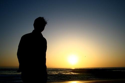 silhouette @ sunset