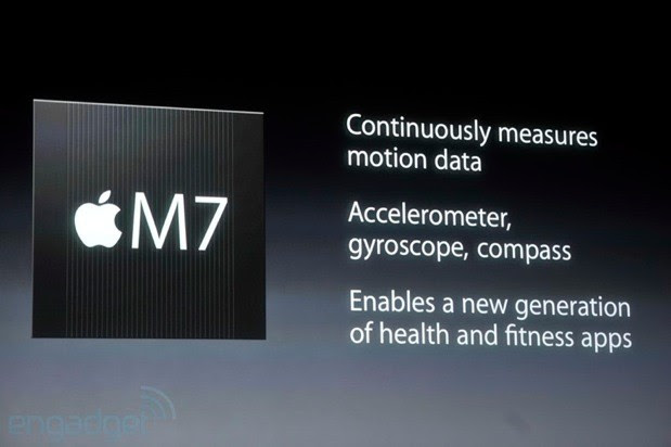 iPhone 5S packs M7 motion sensing chip, CoreMotion API for more accurate tracking