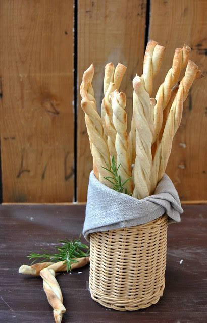 Rosemary Sourdough Grissini