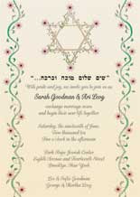 Jewish Wedding Invitation Wording Etiquette